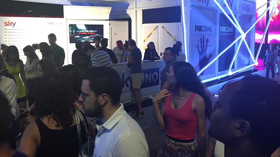 Le foto dell'evento di FoxCrime tenutosi presso lo Spazio Sky in Darsena a Milano venerdì 31 luglio.