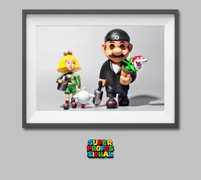 La statuetta di Super Mario ispirata a Léon