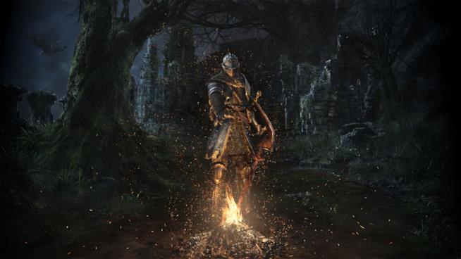 Un artwork di Dark Souls Remastered