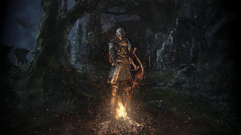 Un artwork di Dark Souls Remastered