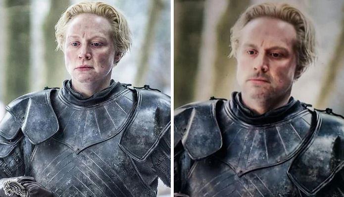 Brienne in versione maschile