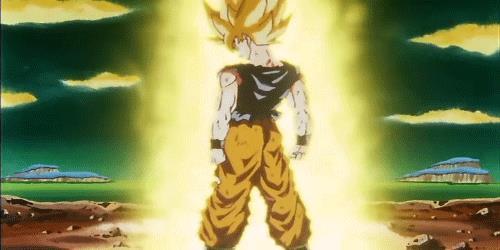 Goku SSJ Gif