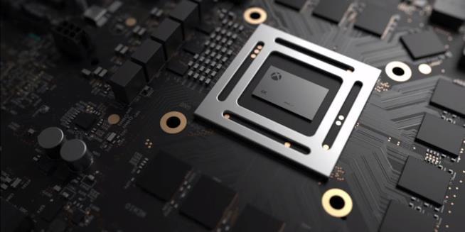 La prima immagine di Xbox Scorpio