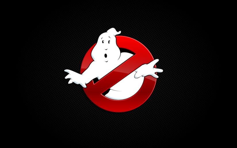 Il celebre logo dei Ghostbusters