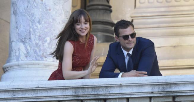 Cinquanta Sfumature di Rosso, Anastasia e Christian a Parigi
