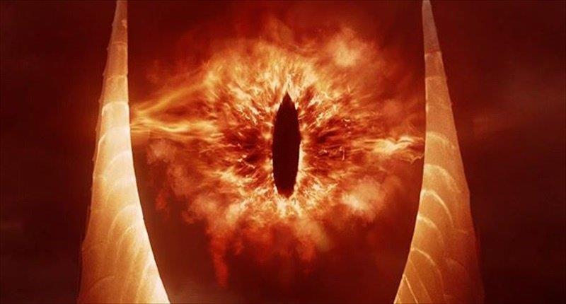 Sauron dal Signore degli Anelli