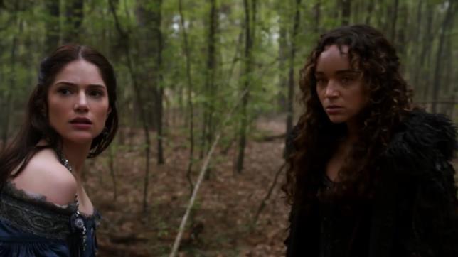 Janet Montgomery e Ashley Madkwe interpretano Mary Sibley e Tituba