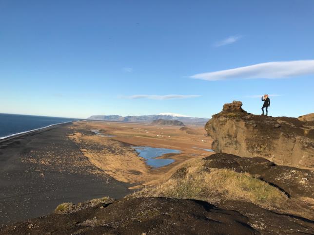 Con i piedi sulla Barriera - Islanda