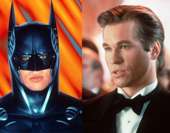 Val Kilmer nel doppio ruolo di Batman e Bruce Wayne