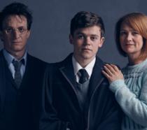 Albus e i genitori in Harry Potter e la Maledizione dell'Erede