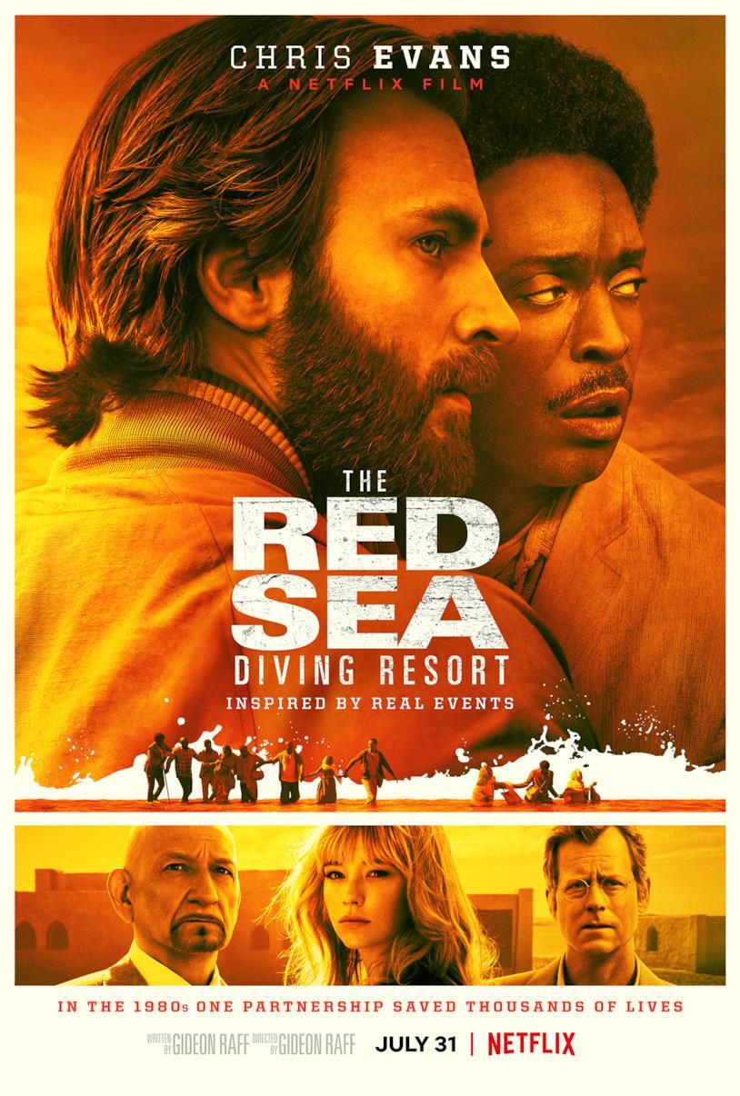 Il poster del film The Red Sea Diving Resort