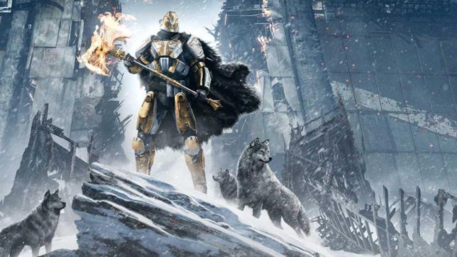 Un'illustrazione del DLC di Destiny, I Signori del Ferro.
