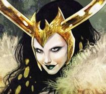 Lady Loki come appare nei fumetti Marvel
