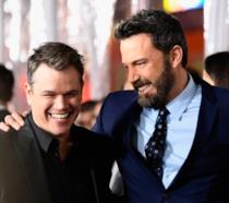 I due sorridenti amici Ben Affleck e Matt Damon