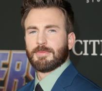 Chris Evans durante la promozione di Avengers: Endgame