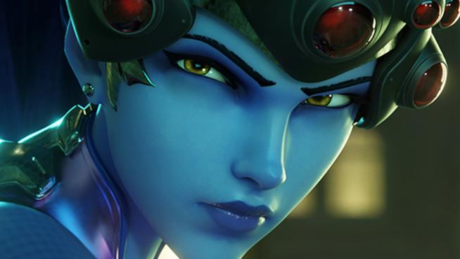 Un primo piano per Widowmaker da Overwatch