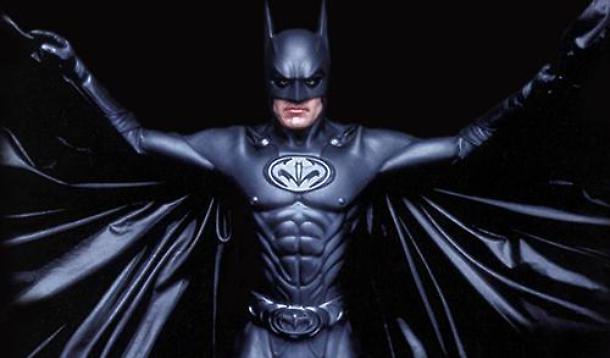 Il costume di George Clooney nel film Batman & Robin