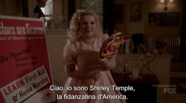 Chanel #5 nei panni di Shirley Temple
