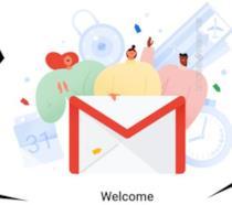 La schermata iniziale del client di posta elettronica Gmail