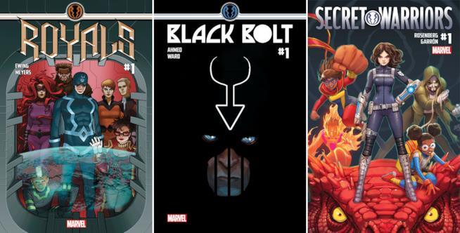 Nel 2017 Marvel lancerà tre nuovi fumetti con protagonisti gli Inumani