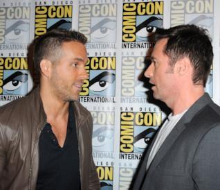 Ryan Reynolds e Hugh Jackman al San Diago Comic Con