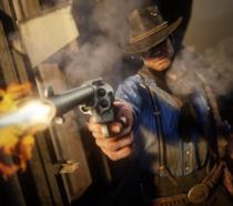 Arthur Morgan in azione in Red Dead Redemption 2