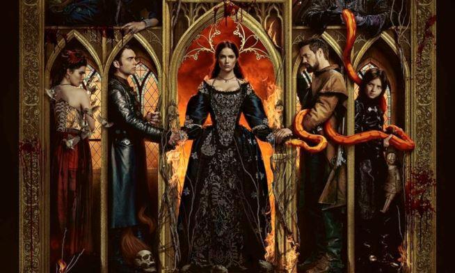 L'oscuro poster della terza stagione di Salem con tutti i protagonisti
