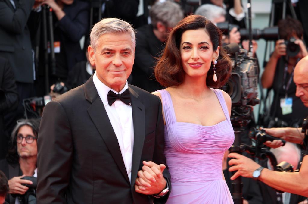 George e Amal Clooney infiammano Venezia74: con Suburbicon ...