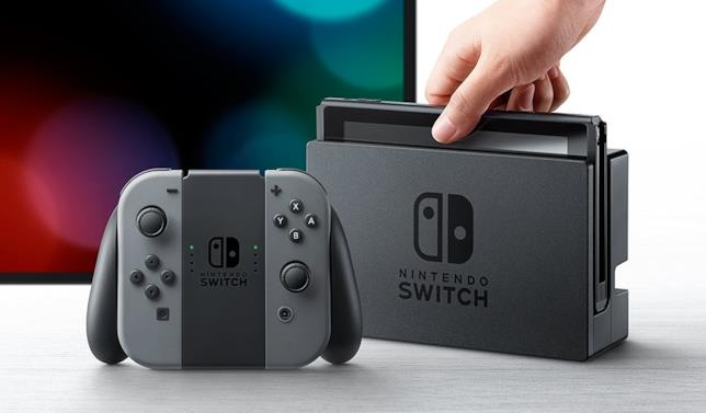 Switch, console fabbricata da Nintendo