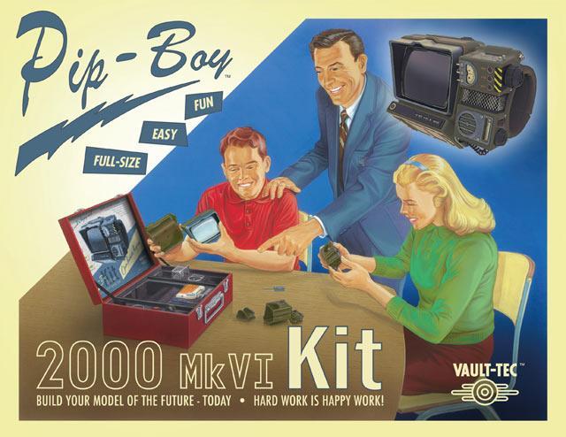 Pip-Boy 2000: facile, divertente e a grandezza naturale