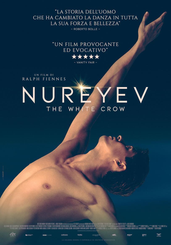Il poster del film di Ralph Fiennes, Nureyev – The White Crow