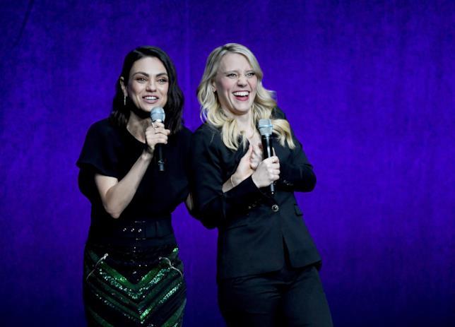 Mila Kunis e Kate McKinnon al CinemaCon 2018