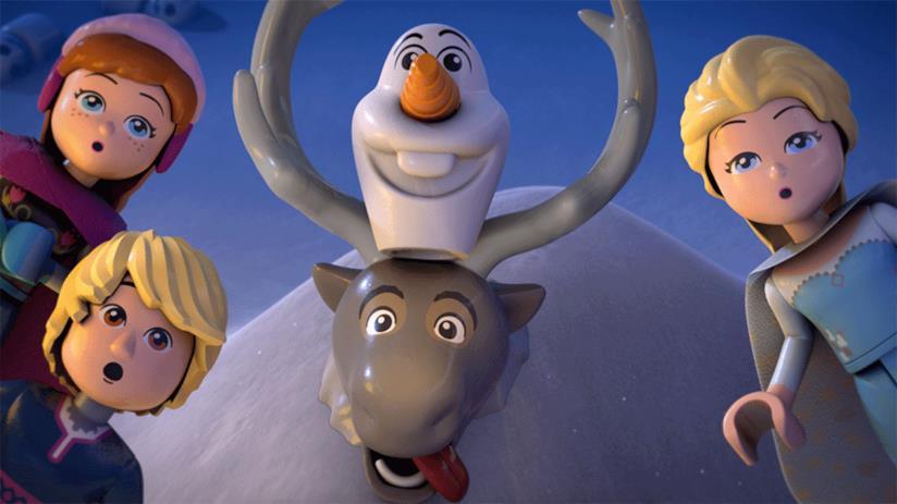 Un'immagine del nuovo corto di Frozen