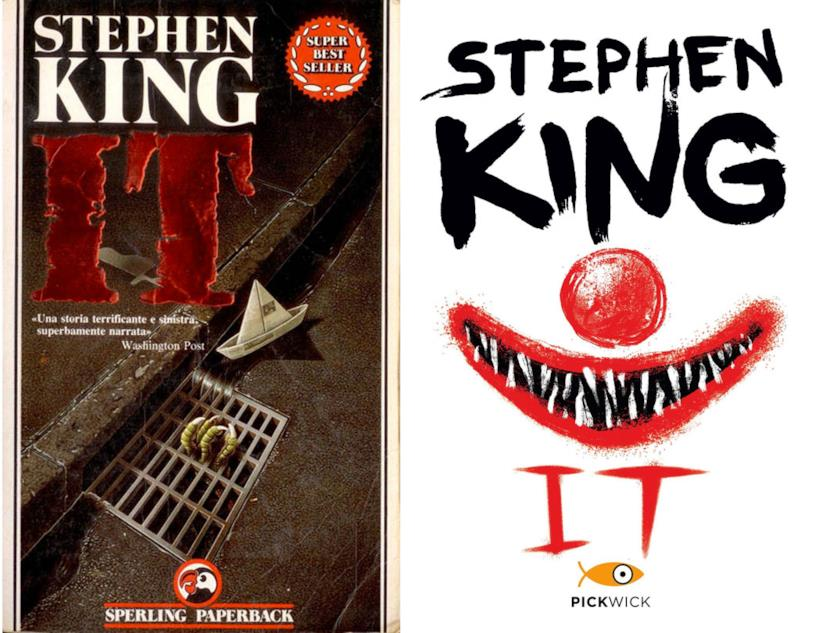Due versioni italiane del romanzo IT