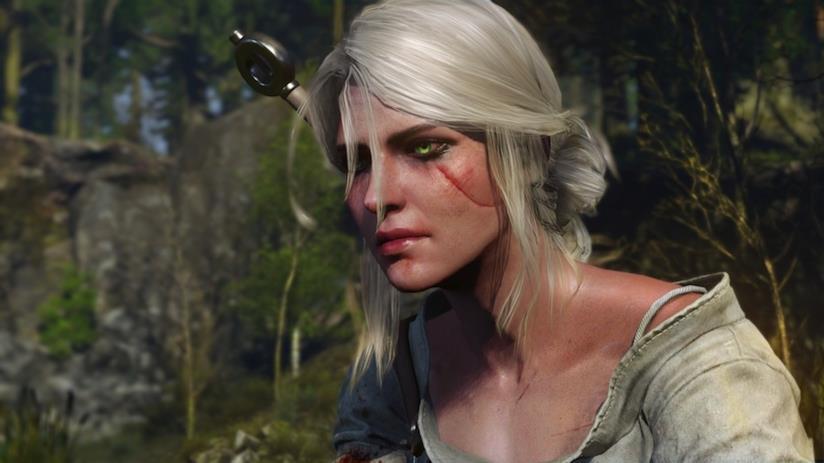 Un primo piano di Cirilla in The Witcher 3