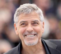 Primo piano di George Clooney