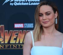 Brie Larson all'anteprima di Avengers: Infinity War