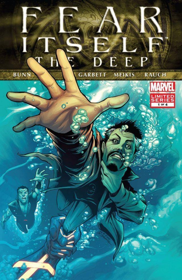 Copertina di Fear Itself: The Deep #1