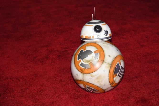 il robot BB-8 di Star Wars: Il Risveglio della Forza