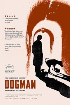 La locandina USA di Dogman