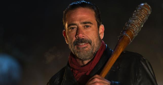 Jeffrey Dean Morgan è Negan nella serie TV di The Walking Dead