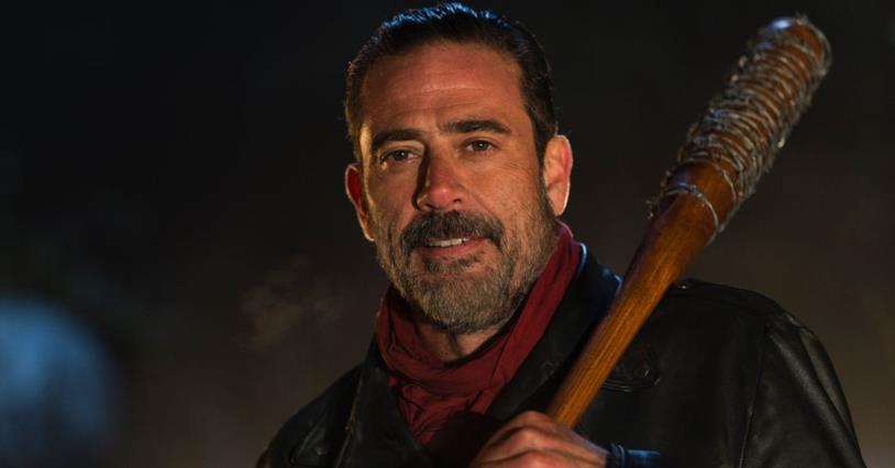 Jeffrey Dean Morgan è Negan nella serie TV di The Walking Dead
