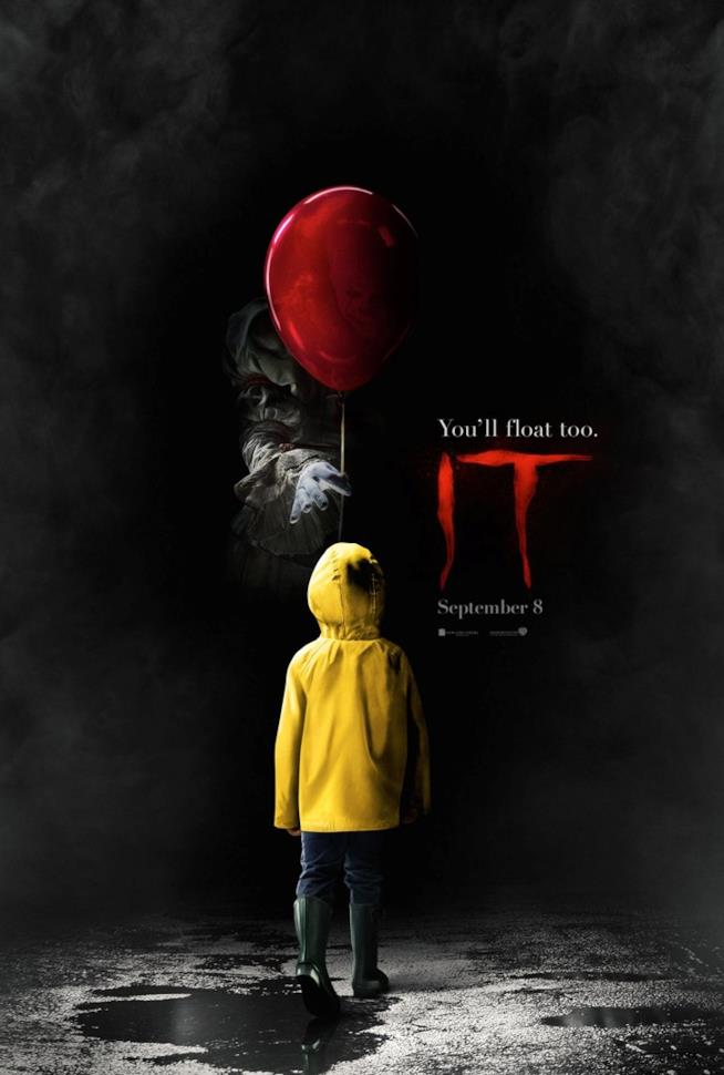 Il teaser poster di IT