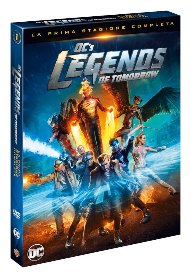 Legends of Tomorrow, prima stagione in DVD