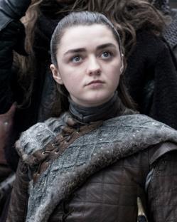 Game of Thrones 8: Arya con uno sguardo che incute timore