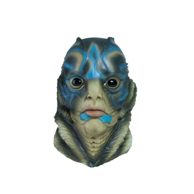La creatura de La forma dell'acqua: la maschera per Halloween