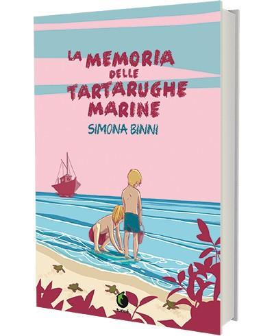 La cover del fumetto La memoria delle tartarughe marine