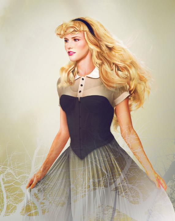 Dal cartoon Disney al mondo reale: la principssa Aurora