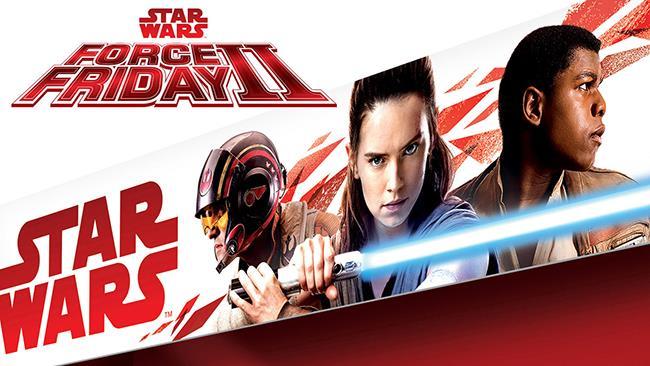 Il packaging della nuova linea di giochi che sarà lanciata in occasione del Force Friday II
