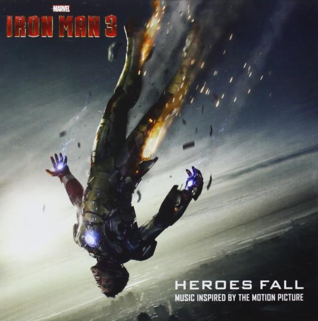 Tony Stark è in seria difficoltà sulla cover di Iron Man 3 Heroes Fall